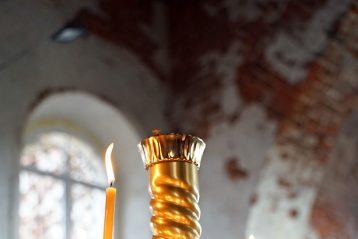 8 августа. В Троицком храме села Спирина (фото Виолетты Калашниковой)