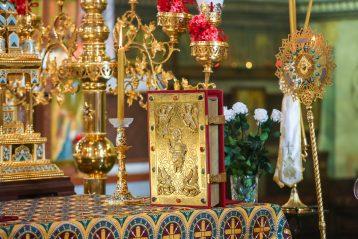 12 сентября. В Александро-Невском кафедральном соборе Нижнего Новгорода (фото Александра Чурбанова)