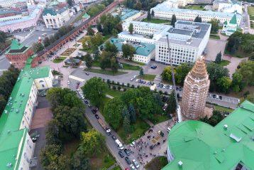 17 сентября. Вид на Нижегородский кремль (фото Андрея Ерастова)