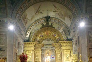 25 сентября. Всещоное бдение в Воскресенском кафедральном соборе Арзамаса (фото Алексея Козориза)
