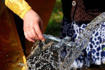 26 сентября. Освящение воды на источнике «Княжий» села Афанасьева (фото Бориса Поварова)