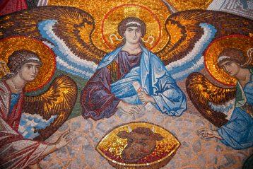 5 сентября. Мозаика Благовещенского собора Серафимо-Дивеевского монастыря (фото Александра Чурбанова)