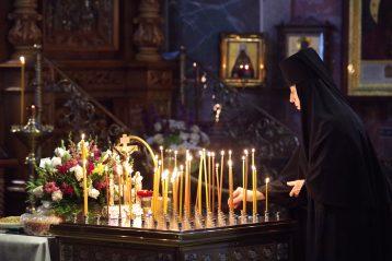 9 сентября. В Троицком соборе Серафимо-Дивеевского монастыря (фото Алексея Козориза)