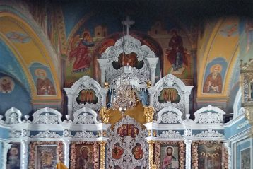 Алтарь Богоявленско-Анастасииного кафедрального собора Костромы