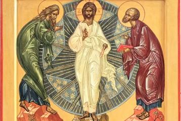 Выпускная работа Светланы, икона «Преображение Господне», находится в Спасо-Преображенском соборе Нижнего Новгорода