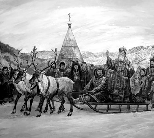 Святитель Иннокентий Вениаминов на Аляске