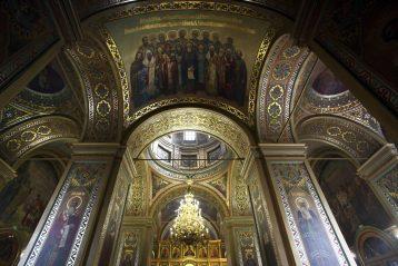 8 октября. В Сергиевском храме Нижнего Новгорода (фото Бориса Поварова)