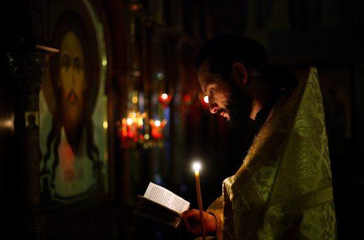 28 ноября. Всенощное бдение в Елизаветинском храме Нижнего Новгорода (фото Бориса Поварова)