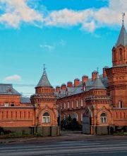 Башня монастырской ограды Введенской женской обители