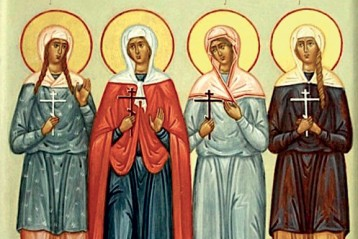 Пузовские мученицы Дария, Евдокия, Мария иДария