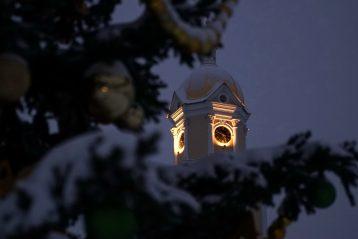 22 января. Колокольня Серафимо-Дивеевского монастыря (фото Виолетты Калашниковой)