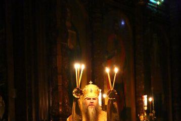 1 январь. Божественная литургия в Александро-Невском кафедральном соборе Нижнего Ногорода (фото Сергея Лотырева)