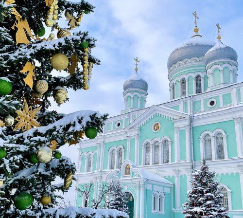 22 января. Троицкий собор Серафимо-Дивеевского монастыря (фото Виолетты Калашниковой)