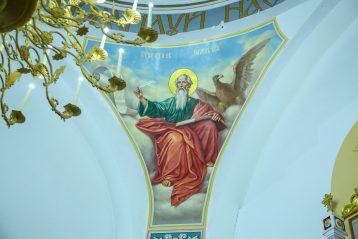 13 января. В храме в честь Успения Божией Матери в селе Суворове (фото Александра Чурбанова)