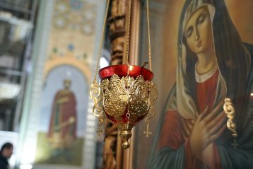 20 января. В нижегородском храме в честь Вознесения Господня (фото Виолетты Калашниковой)