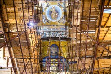 23 января. В Благовещенском соборе Серафимо-Дивеевского монастыря (фото Александра Чурбанова)