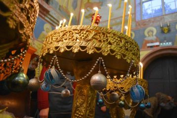 25 января. В храме в честь святой мученицы Татианы Воскресенского благочиния (фото благочиния)