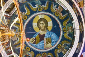 26 января. В Александро-Невском кафедральном соборе Нижнего Новгорода (фото Александра Чурбанова)