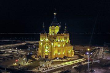 6 января. Александро-Невский кафедральный собор Нижнего Новгорода (фото Александра Фролова)