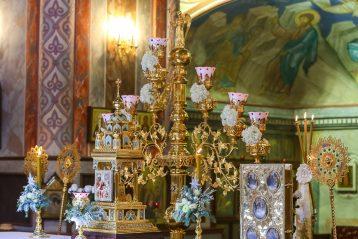 10 января. В Александро-Невском кафедральном соборе Нижнего Новгорода (фото Александра Чурбанова)