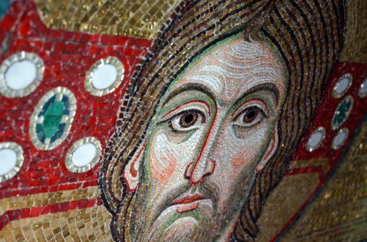 17 февраля. Мозаика в Благовещенском соборе Серафимо-Дивеевского монастыря (фото Виолетты Калашниковой)