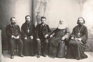 Преподаватели семинарии и нижегородское духовенство, 1913 г.