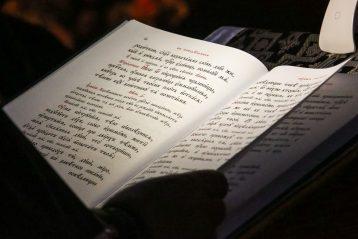 15 марта. Чтение Великого покаянного канона в Серафимо-Дивеевском монастыре (фото Александра Чурбанова)