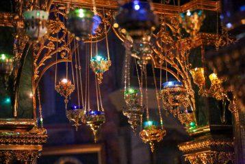 16 марта. В Троицком соборе Свято-Троицкого Серафимо-Дивеевского женского монастыря (фото Александра Чурбанова)