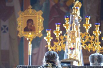 17 марта. Литургия Преждеосвященных Даров в Серафимо-Дивеевском монастыре (фото Александра Чурбанова)
