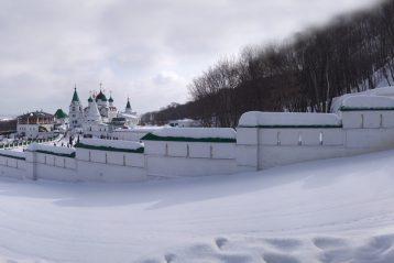 19 марта. Вознесенский Печерский монастырь Нижнего Новгорода (фото Алексея Козориза)