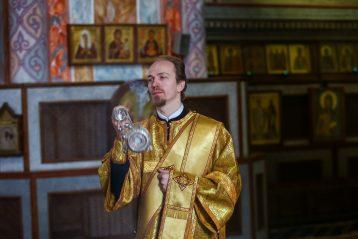 21 марта. Божественная литургия в Александро-Невском кафедральном соборе Нижнего Новгорода (фото Александра Чурбанова)