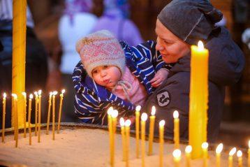 21 марта. В Александро-Невском кафедральном соборе Нижнего Новгорода (фото Александра Чурбанова)