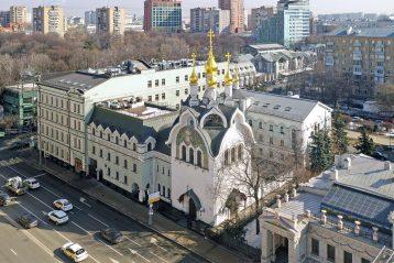 26 марта. Подворье Серафимо-Дивеевского монастыря в Москве (фото Александра Фролова)