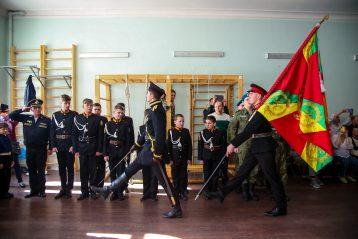 27 марта. Праздник в Нижегородском графа Аракчеева кадетском корпусе (фото Александра Чурбанова)