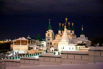 3 марта. Вознесенский Печерский монастырь Нижнего Новгорода (фото Александра Чурбанова)
