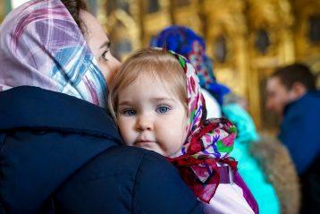 7 марта. В Воскресенском кафедральном соборе Арзамаса (фото Александра Чурбанова)