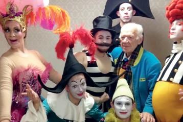 Открытие обновленного цирка на Фонтанке, Санкт-Петербург, декабрь 2015 г.