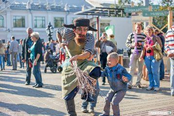 IV фестиваль «День Рождественской улицы», Нижний Новгород, 2014 г.
