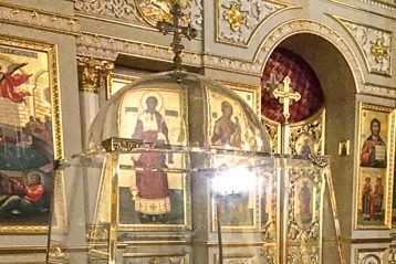 Ковчег счастицей Животворящего Креста Господня