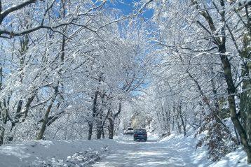 По дороге на Бештау