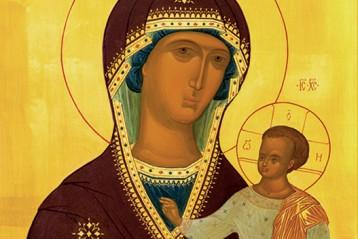Икона Божией Матери «Седмиезерная»