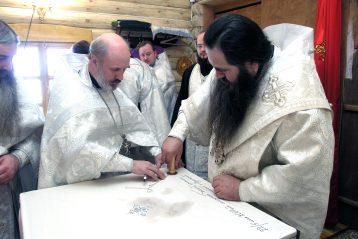 4 мая 2007 года. Освящение храма Георгия Победоносца при нижегородской академии МВД