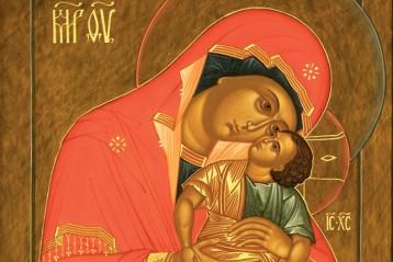 Икона Божией Матери «Взыграние Младенца»