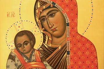 Икона Божией Матери «Богородица с Младенцем» (Синай)