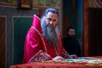 16 мая. Божественная литургия в Александро-Невском кафедральном соборе (фото Александра Чурбанова)