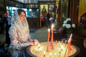 2 мая. В Александро-Невском кафедральном соборе (фото Александра Чурбанова)