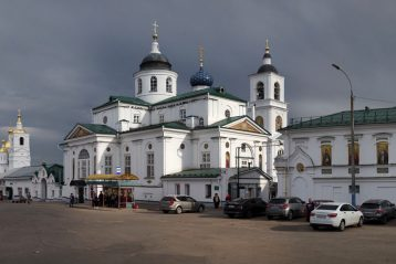 21 мая. Николаевский женский монастырь города Арзамаса (фото Алексея Козориза)