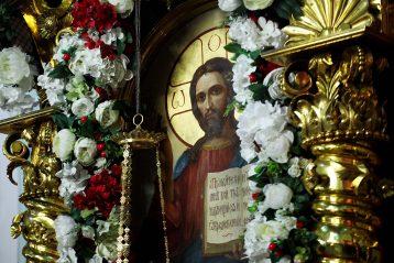 3 мая. В нижегородском храме во имя Всемилостивейшего Спаса (фото Бориса Поварова)