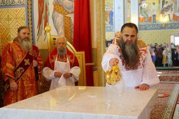 6 мая. Освящение храма в честь блаженной Матроны Московской (фото Сергея Лотырева)