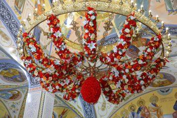 6 мая. В храме в честь блаженной Матроны Московской (фото Сергея Лотырева)